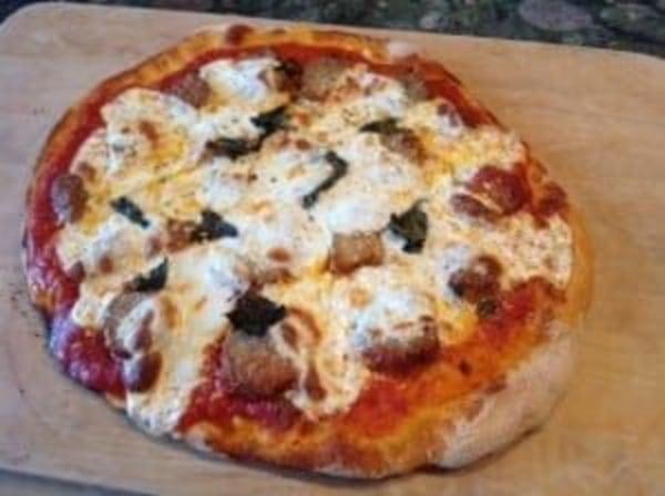 Image of Marina's Meatball Parmigiana Pizza
