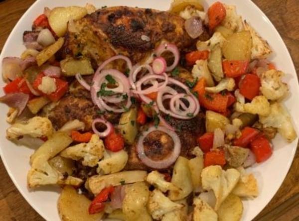 Image of Sheet Pan Chicken Tikka