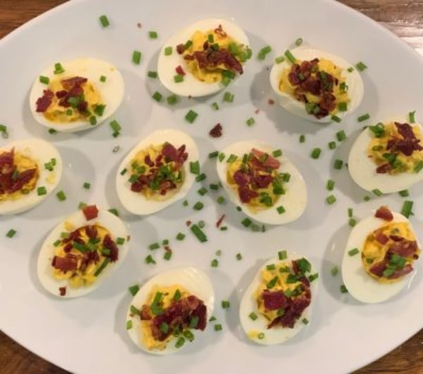 Image of Bacon Deviled Eggs