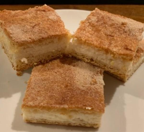 Image of Lemon Cheam Cheese Bars