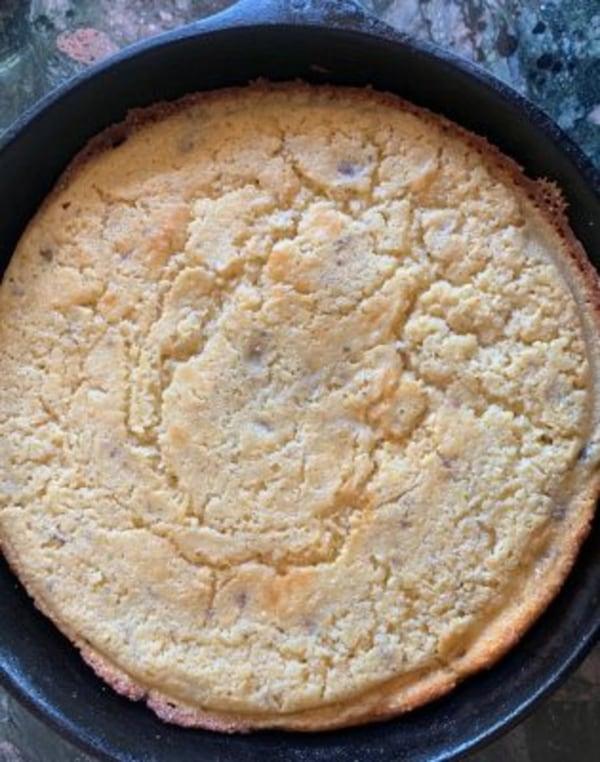 Image ofMaple Sausage Skillet Cornbread