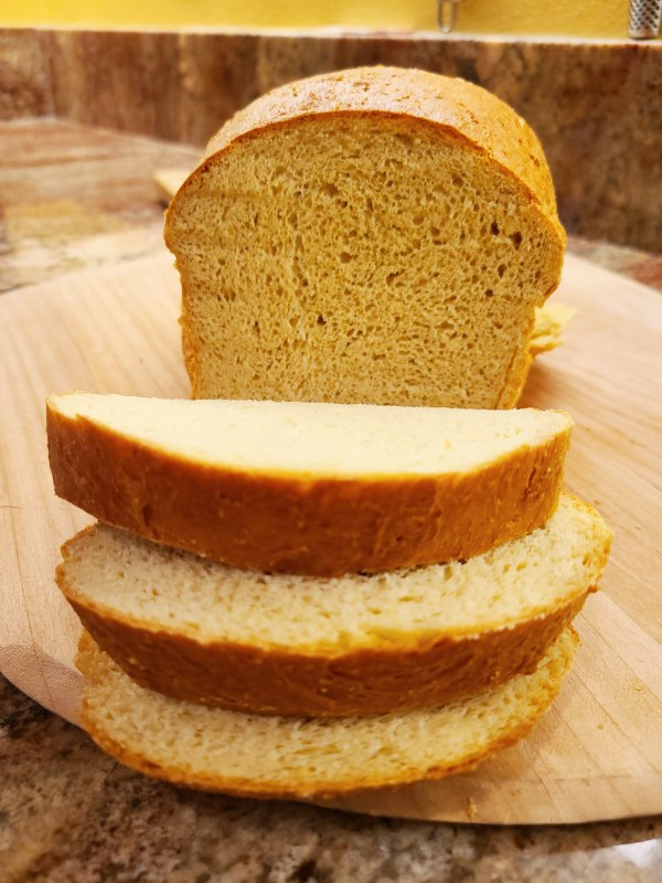 Image of Keto-Friendly, Low-Carb Bread with Lupin Flour, Great for Sandwiches and Toast
