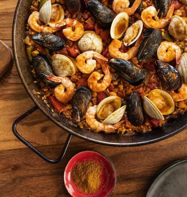 Image ofSeafood & Chorizo Salvador Paella