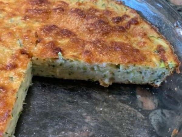 Image of Crustless Summer Zucchini Pie