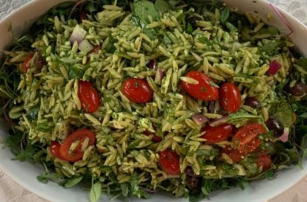 Image of Spinach and Orzo Salad