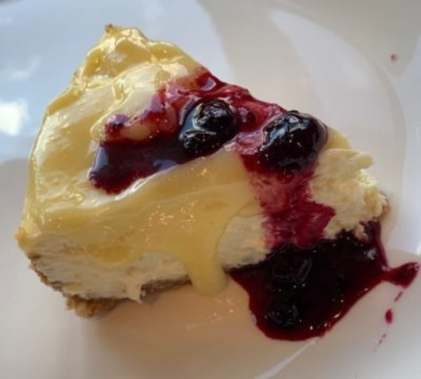 Image of The Best Lemon Cheesecake