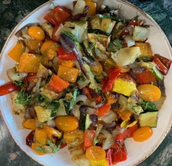 Image ofRoasted Vegetable Salad