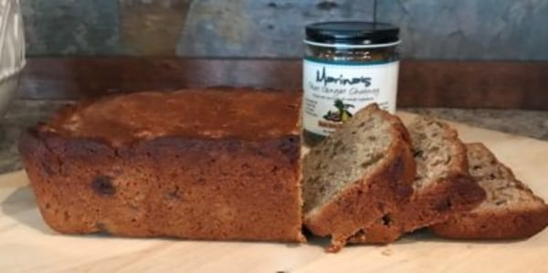 Image of Spiced Pear Bread with Marina's Pear Ginger Chutney
