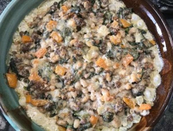 Image of Tuscan Sausage & Bean Dip