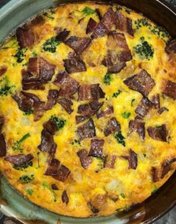 Image ofBacon and Cheese Frittata