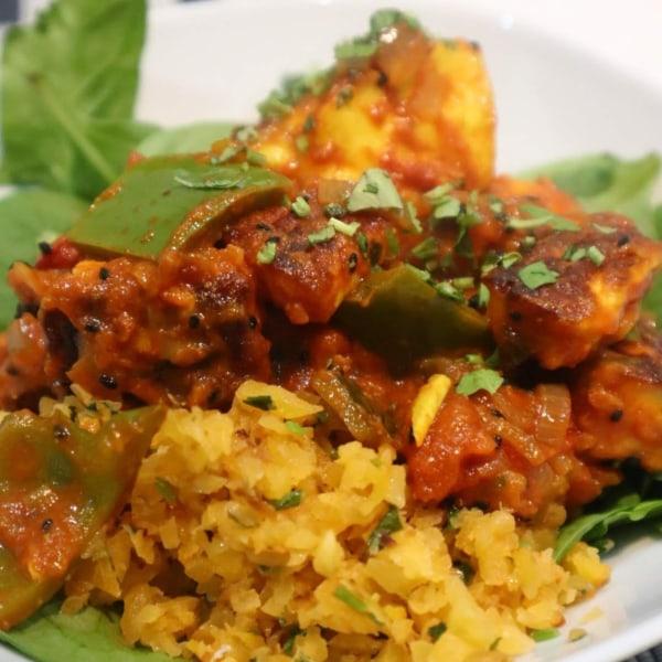 Image of Halloumi Balti Curry