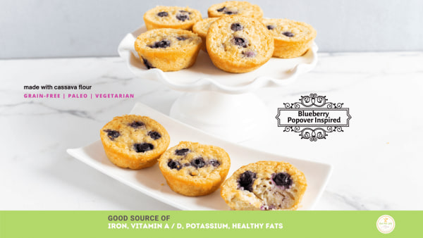 Image of Blueberry Popover Inspired