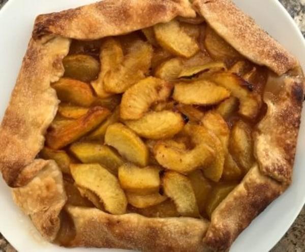 Image of Peach Crostata