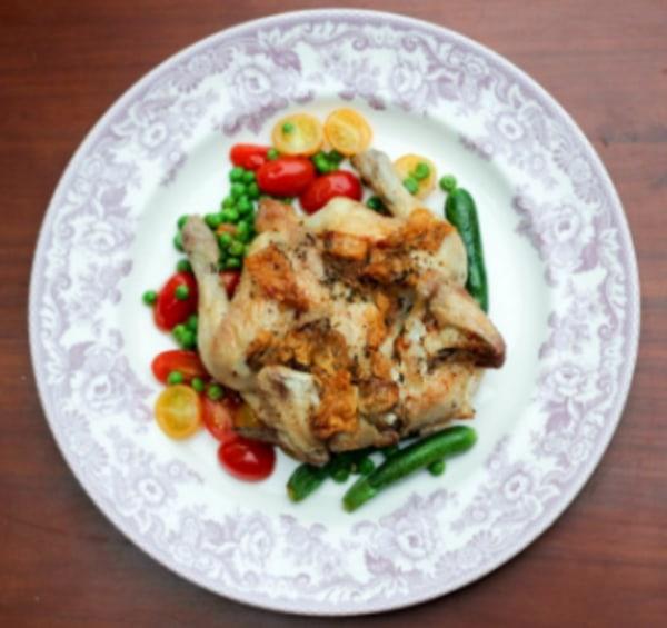 Lardo and roast chicken recipe - English Charcuterie