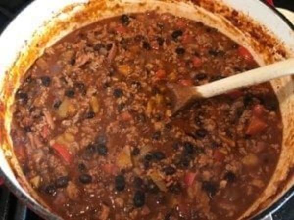 Image ofMarina's Beef and Pork Chili