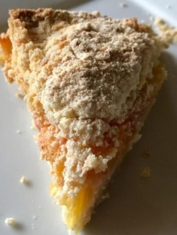 Image ofItalian Fresh Peach Crumb Cake
