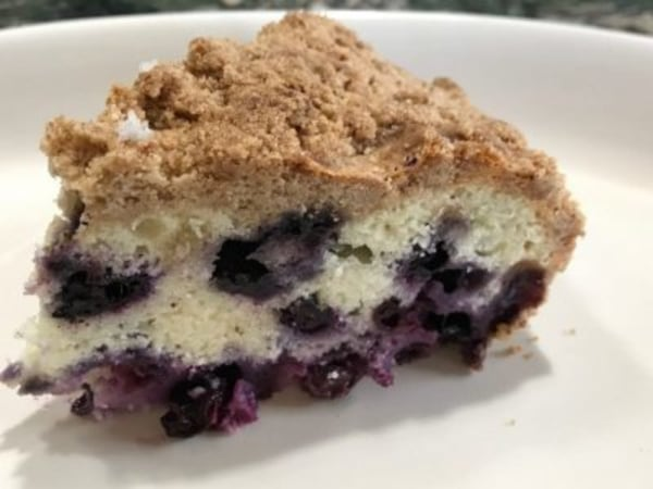 Image of Blueberry Crumble Pie