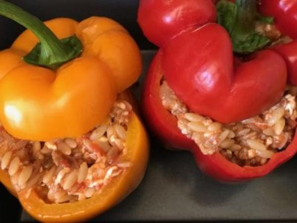 Image of Cheesy Italian Stuffed Peppers