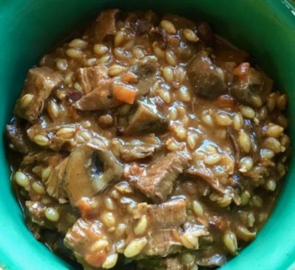 Image ofBeef and Barley Soup