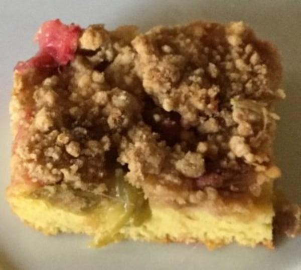 Image of Rhubarb Snacking Cake
