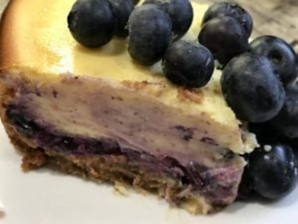 Image of Blueberry Chèvre Cheesecake Squares
