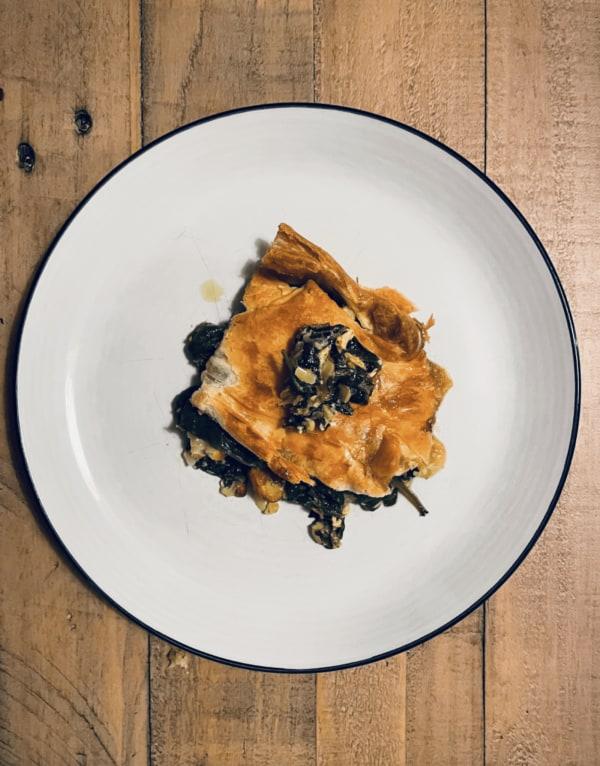 Image ofChard & Cheddar Pie