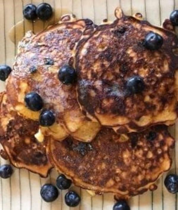 Image ofMom's Oatmeal Blueberry Pancakes