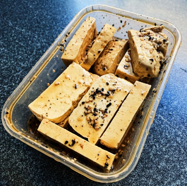 Image of Everything Bagel Tofu Marinade