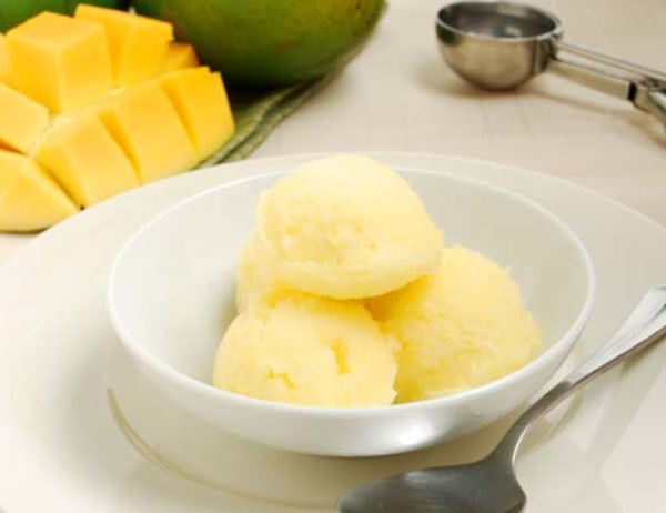 Image of Green Keitt Mango Sorbet