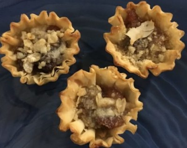 Image of Pear Ginger Crisp Phyllo Cups