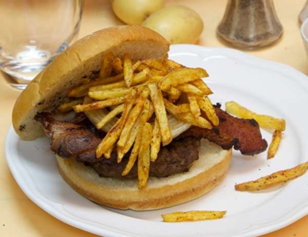Image ofTriple Smoke 50/50 Burger