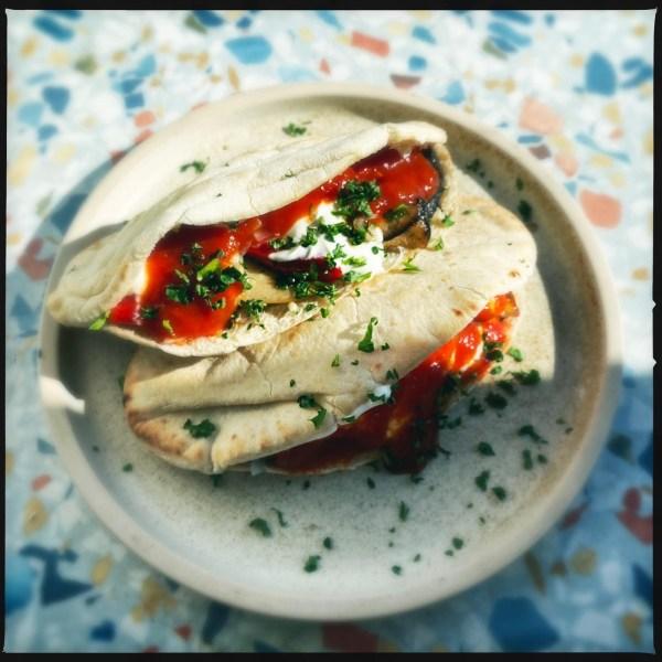 Image of Vegetarian Mushroom Kebab