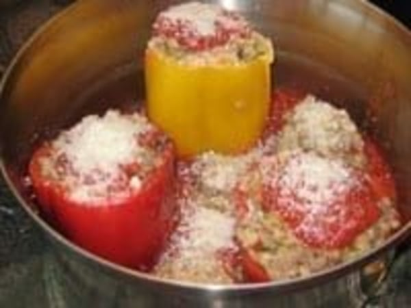 Image ofStuffed Peppers with Italian Sausage