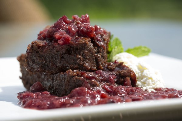 Image of Cranberry Chutney Brownies