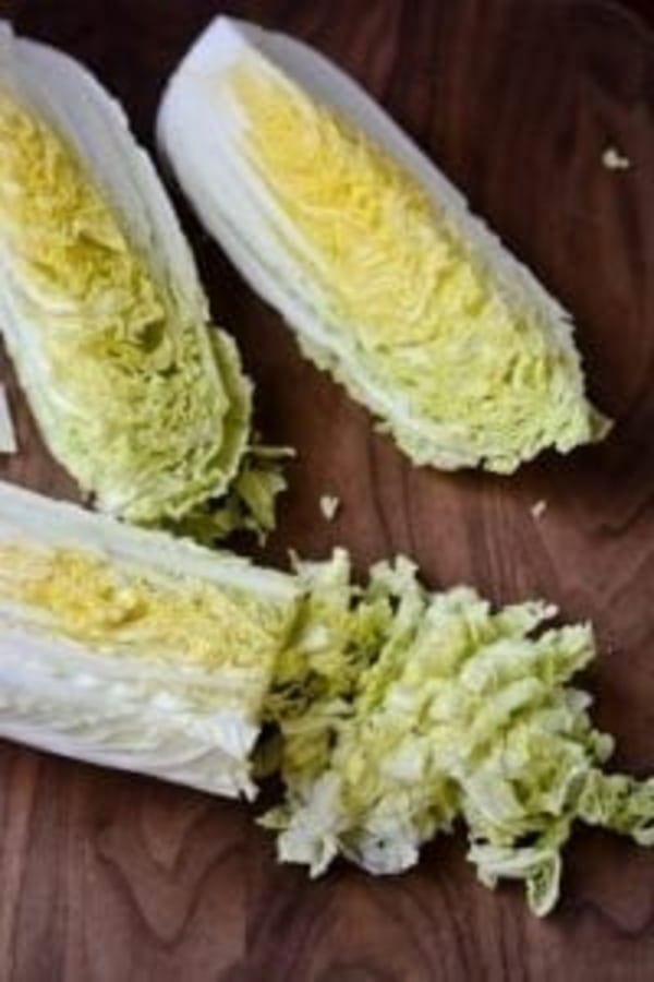 Image of Crunchy Cabbage Salad & Spicy Peanut Dressing