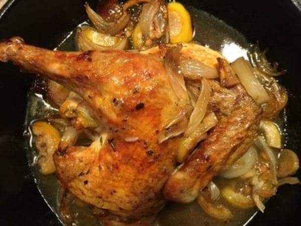 Image ofSkillet-Roasted Lemon Chicken