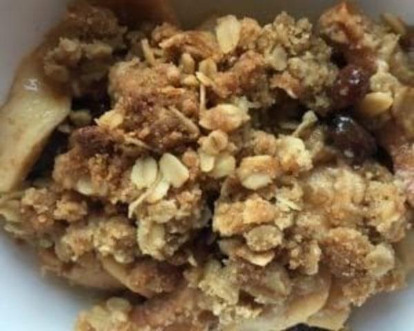Image ofApple Crisp with Raisins