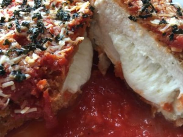 Image ofStuffed Chicken Parmesan