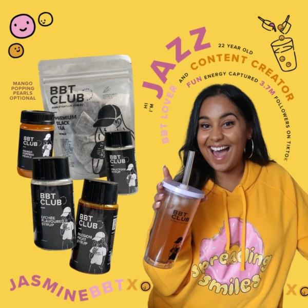 Image ofJasmineBBTxo's Passion, Lychee & Mango Pop Black Tea