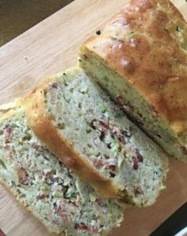 Image of Bacon Cheddar Zucchini Bread