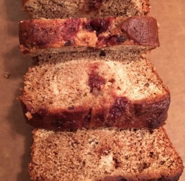 Image of One-Bowl Cranberry Chutney Bread