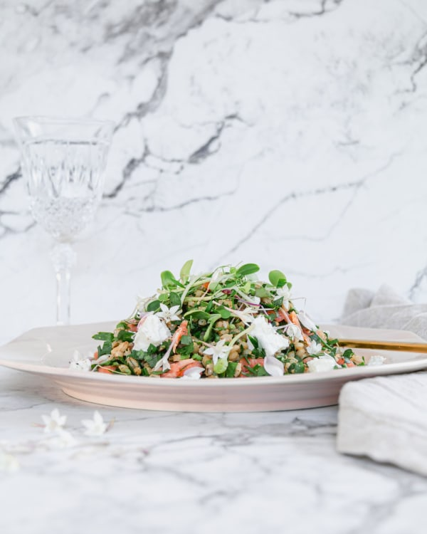 Image of Fresh and Simple Parsley Salad