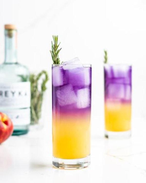 Image ofSake Fizz Tea Cocktail Recipe