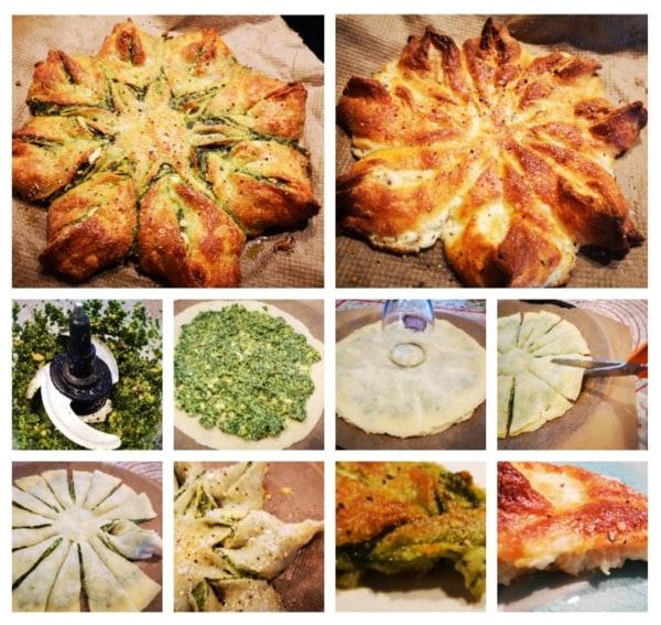 Image ofPesto or Garlic MKD Star Bread
