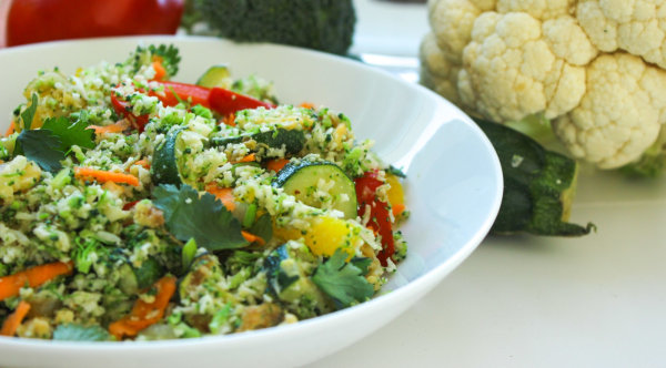 Image ofCauliflower and Broccoli Fried Rice