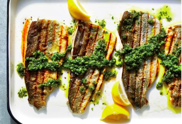 Image ofGrilled Rainbow Trout with Chimichurri