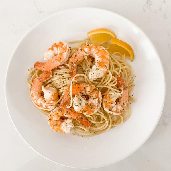 Image ofLemon Garlic Shrimp Pasta