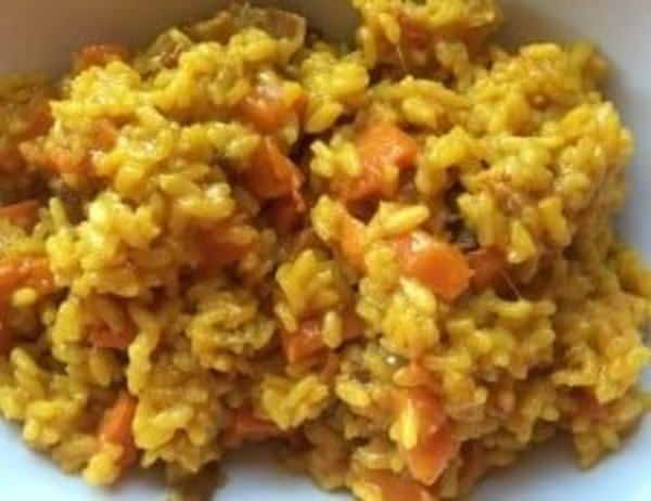 Image of Saffron Rice with Bacon & Butternut Squash