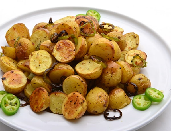 Image ofSpicy Roasted Baby Dutch Yellow® Potatoes