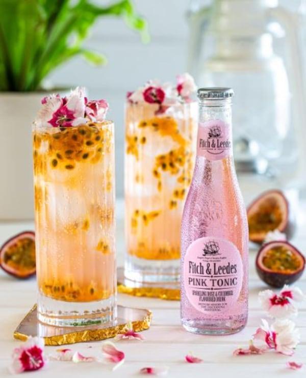 Image of Vodka Pink Passion Fizz